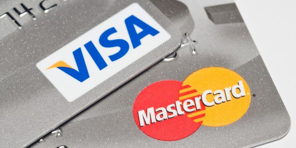 VisaVisaやMasterCardやMasterCard